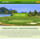 my phuket golf - Hjemmeside design