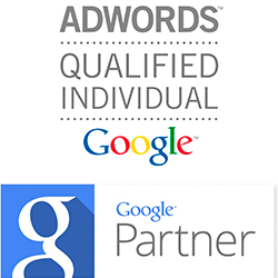 Google AdWords og Partner certifikater